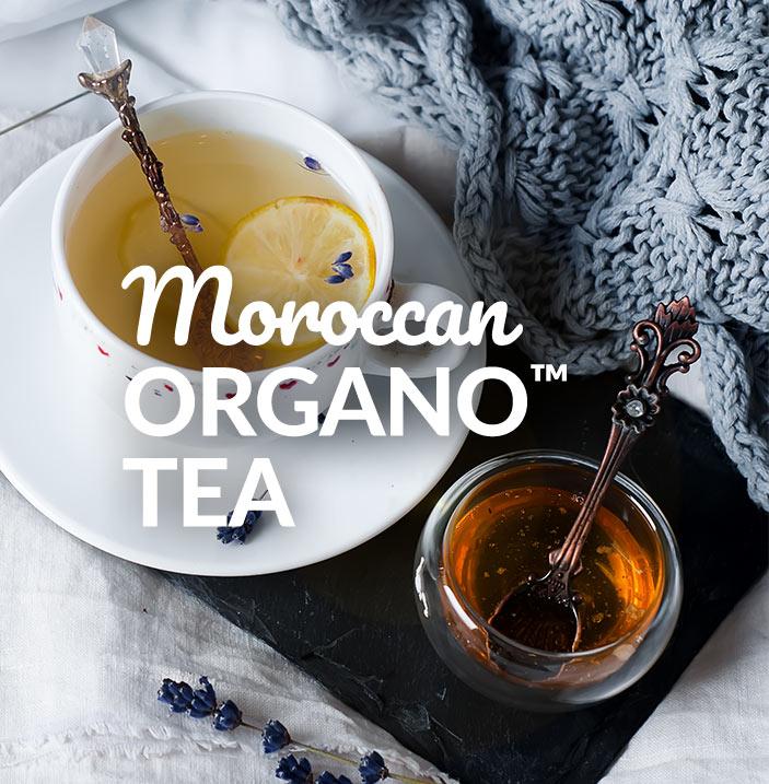 Moroccan Organo Tea